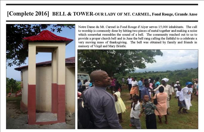 Fond Rouge OLMtCarmel Bell-Complete