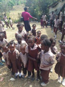 Ricon School children