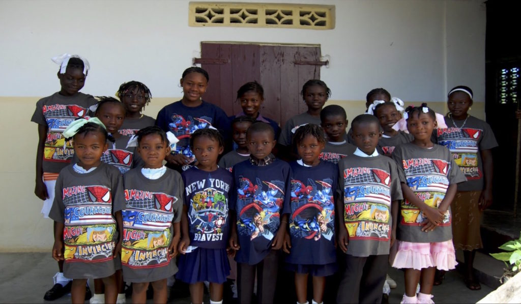 T-Shirt donation by Mattel company