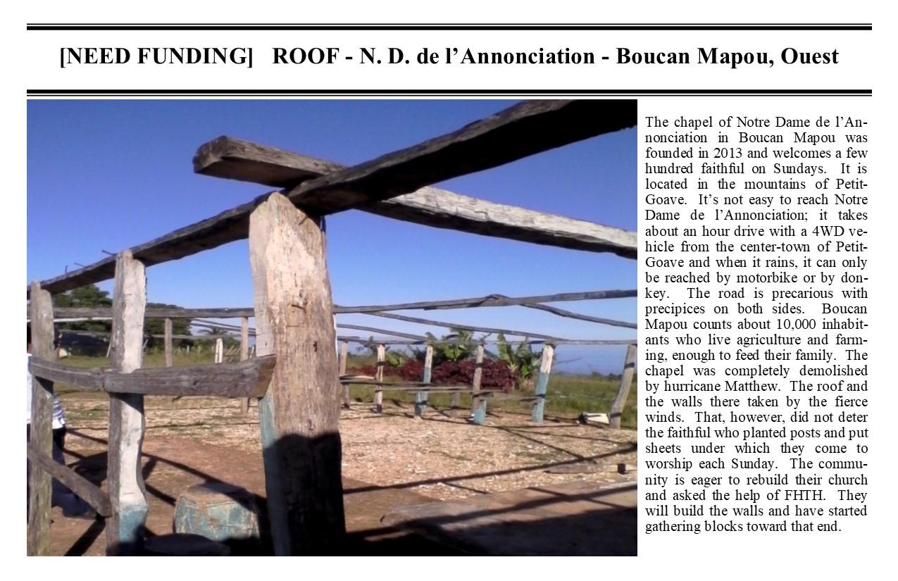 Belimage - ProjectCurrent - ND Annunciation Boucan Mapou