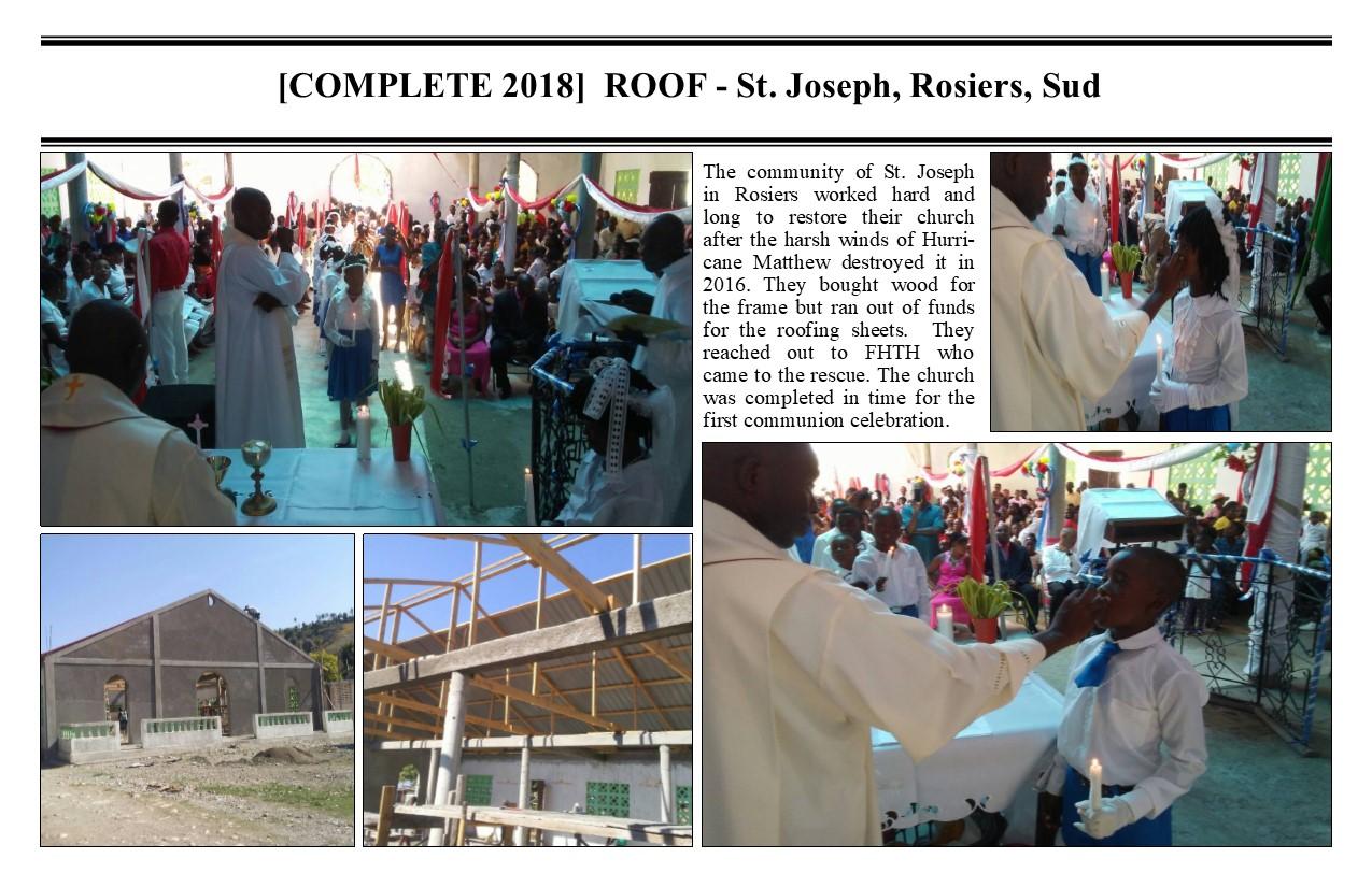 Belimage - ProjectComplete - St Joseph Rosiers Roof