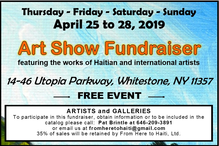 FHTH - Art show Save the Date 2019