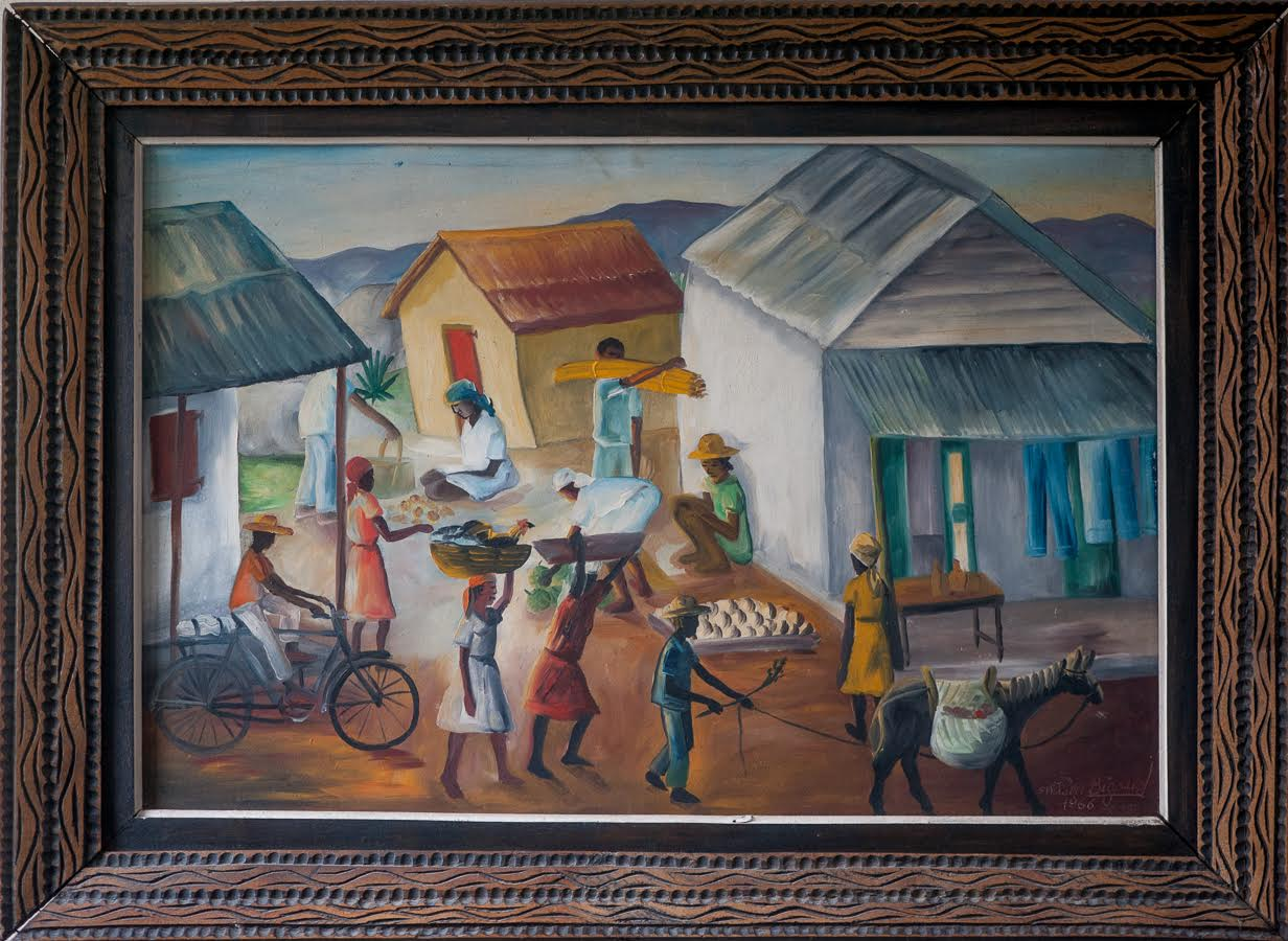 Going to market 16x24 1966 Bigaud